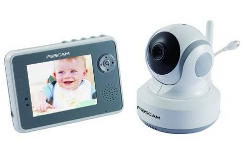 5 best baby video monitor reviews in 2017 doublebestreview. Black Bedroom Furniture Sets. Home Design Ideas