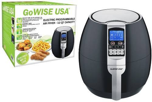 Top 5 best air fryer reviews of 2017 doublebestreview for Gowise usa