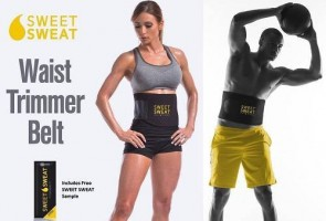 Sweet-Sweat Premium Best Waist Trimmer for Men and Women