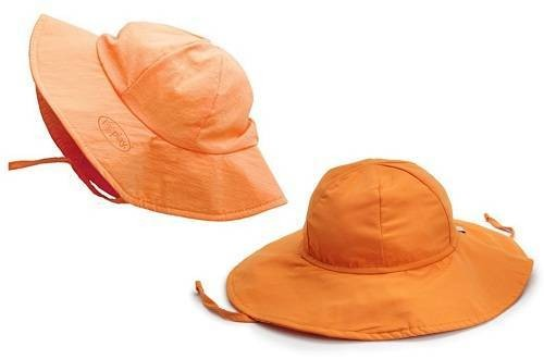 i play Uni-sex Solid-Brim Sun Protection Best Baby Hats