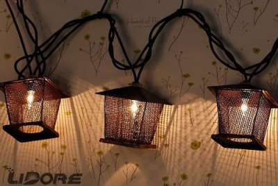 Lidore-10-Counts-Vintage-Bronze-Iron-Nets-Lanterns-Plugin-String-Lights