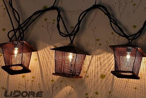 Lidore-10-Counts-Vintage-Bronze-Iron-Nets-Lanterns-Plugin-String-Lights