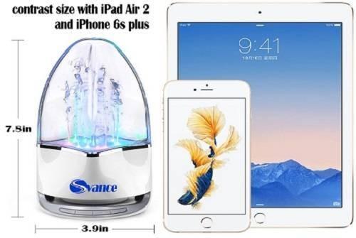 Svance-Outdoor-Portable-Premium-Stereo-Wireless-Bluetooth-Speaker-Bullet-Head