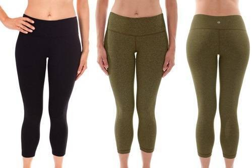 90 Degree Yoga Capris Pants for Women