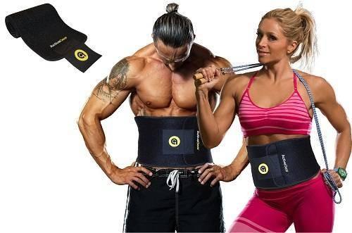 Active Gear Premium WaistTrimmer Belt SlimBody Wrap