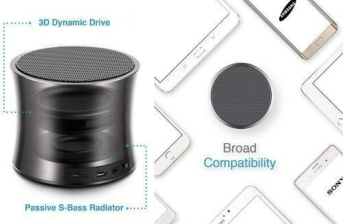 Audio Solo Cannon Portable Wireless Speaker
