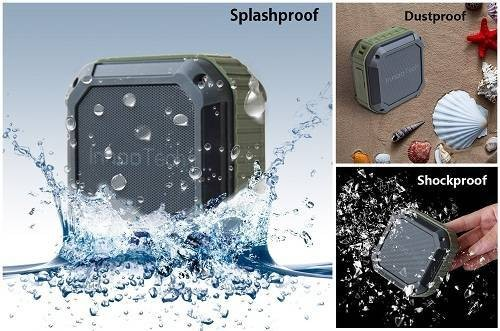 Innoo Tech Waterproof Smallest Bluetooth Speakers