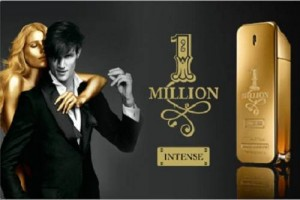 Paco Rabanne EDT Spray, 1 Million Intense for Men