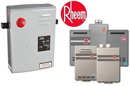 Rheem RTE 13 Tankless Water Heaters