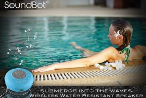 SoundBot SB510 Water Resistant - The Best Portable BLUETOOTH Speakers