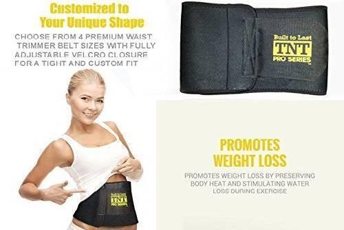 TNT-Pro Series WaistTrimmer Weight-Loss Ab Belt