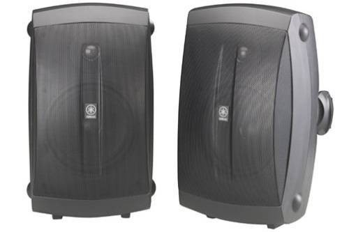 Yamaha NS-AW350B All-Weather Indoor Outdoor 2-Way Speakers
