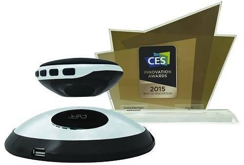 Air 2 CSBT311-BLK Wireless Floating Bluetooth HD Speakers