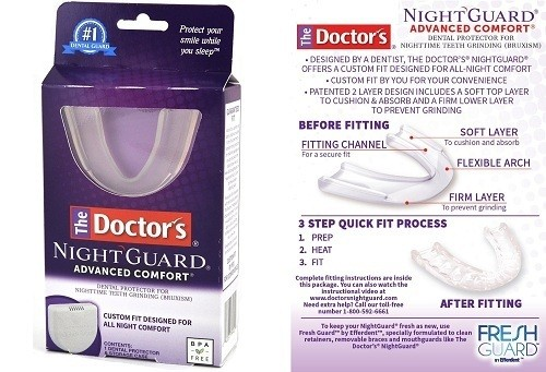 Doctors NightGuard Dental Protector for Teeth Grinding