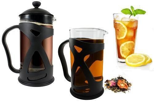 KONA French Press Coffee Espresso & Iced Tea Maker