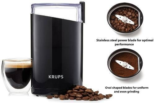 KRUPS F203 Electric Best Coffee Grinders