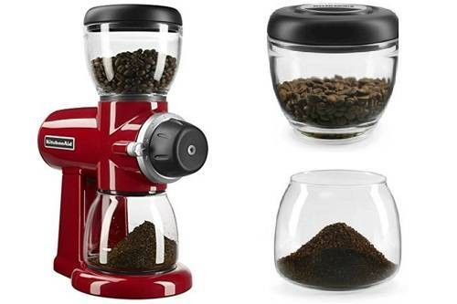 KitchenAid KCG0702ER Burr Coffee Grinder