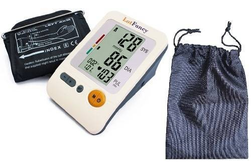 LotFancy Health Sense Digital Upper Arm Blood Pressure Monitor