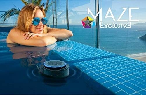 Maze Exclusive IPX7 Waterproof Floating Bluetooth Shower Speakers