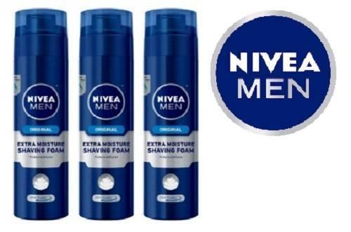NIVEA MEN Extra Moisture Skin-Guard Shaving Foam
