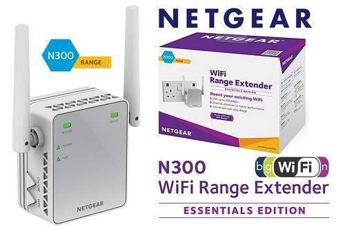 Netgear N300 EX2700 WiFi Range Extender
