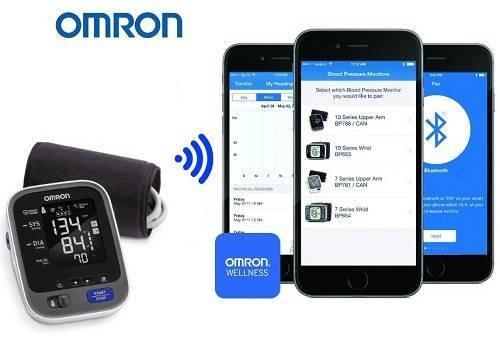 Omron 10 series Wireless Upper Arm Best Blood Pressure Monitors