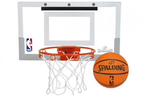 Spalding NBA Slam-Jam Over-The-Door Mini Basket Ball Hoop