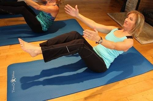 Thrive on Wellness Thick Yoga Mat