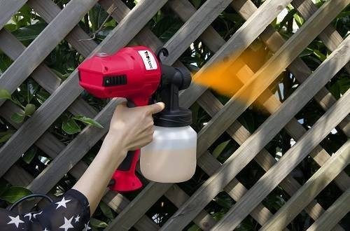 Cartman AC110V Control HVLP Sprayer