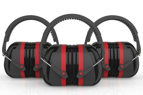 Ear Defense 3000 Focus in Silence Safety Earmuffs