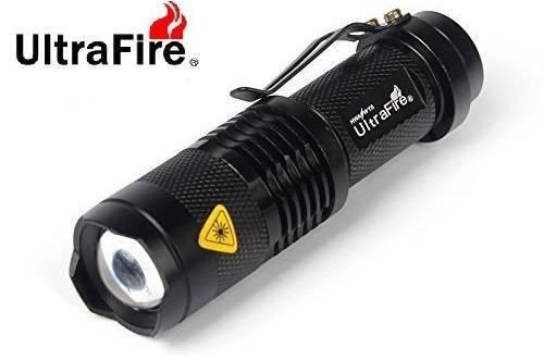 UltraFire 7w 300lm Mini Cree Led Flashlight Torch