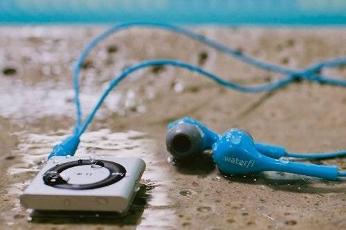 Waterfi Waterproof Short Cord Headphone