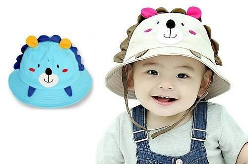 Lean-In-Little Lion Baby Sun Hat