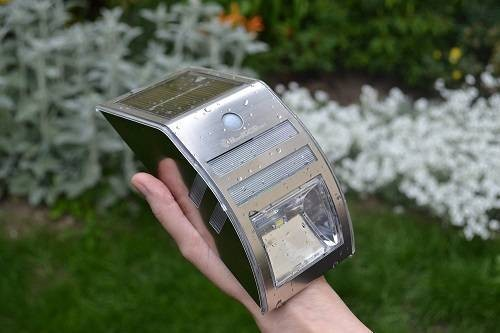 Best100Stuff Solar-Powered Outdoor Motion Sensor Light