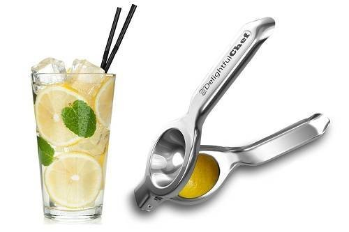 Lime, Lemon Squeezer Citrus Juicer from Delightful Chef