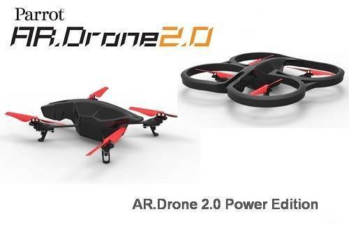 Parrot AR.Drone 2.0 Power Edition Quadcopter
