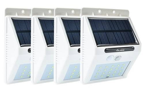 Volador Outdoor Hanging 20 LEDs Motion Sensor Solar Lights