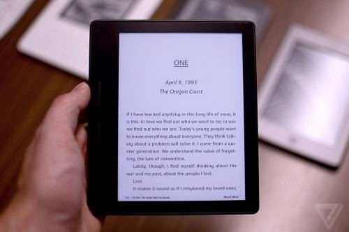 New Kindle Oasis E-Reader with WiFi